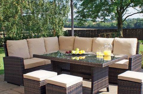 Arredo giardino mobili e accessori legno e rattan for Arredo giardino anguillara