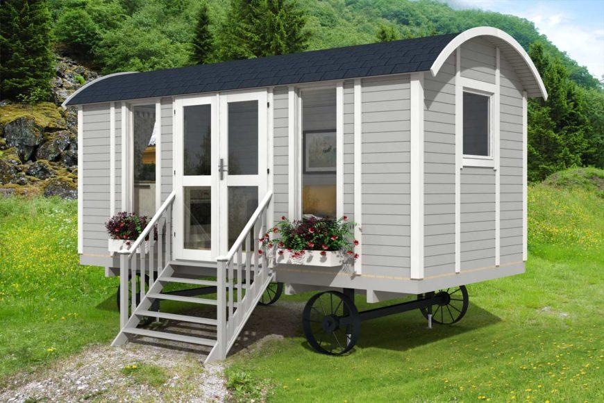 Case mobili su ruote in legno tanti vantaggi casetta legno for Casa mobile in legno