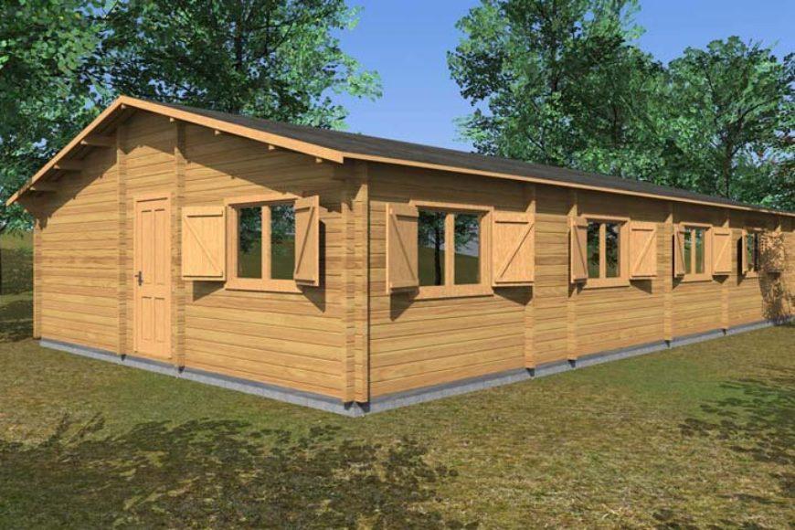 I vantaggi di abitare in una casa di legno