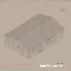Casetta in legno mod. Lombardia III eco