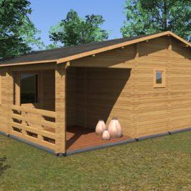 Casa in legno Puglia